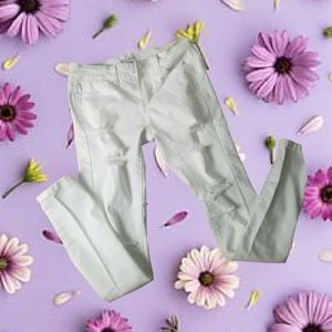 Wax jeans Los Angeles white jeans